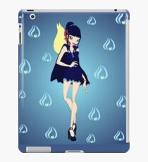 Blue Flame/Fire Fairy Drawing - (Designs4You) iPad Case/Skin
