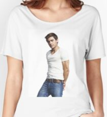 Handsome Zac Efron 5 Women's Relaxed Fit T-Shirt