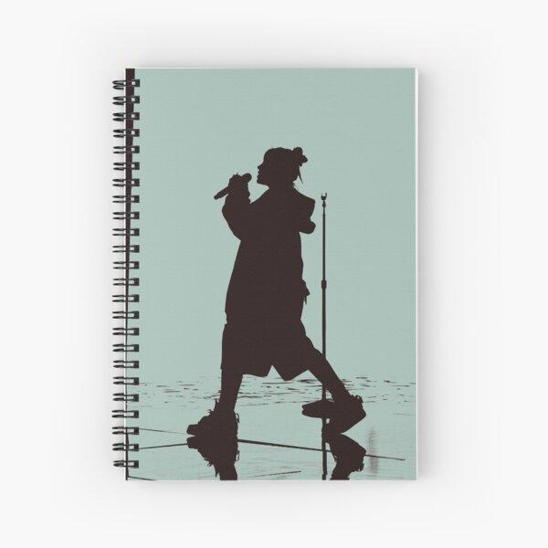 BILLIE EILISH SILHOUETTE Spiral Notebook