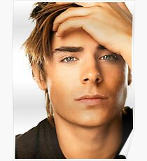 Handsome Zac Efron 6 Poster