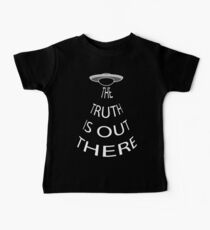 The Truth is Out There (Black) Baby Tee