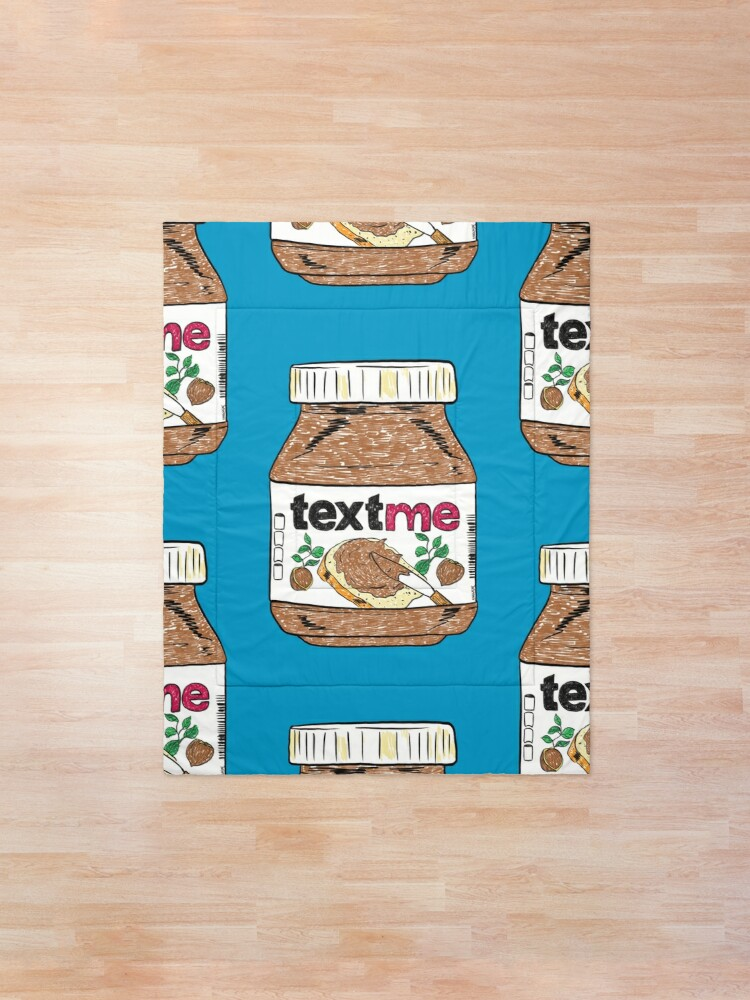 Alternate view of Text Me Comforter