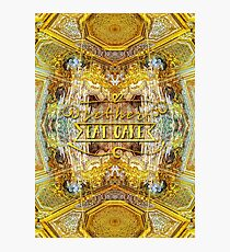 Let Her Eat Cake Queen's Grand Apartment Versailles Photographic Print
