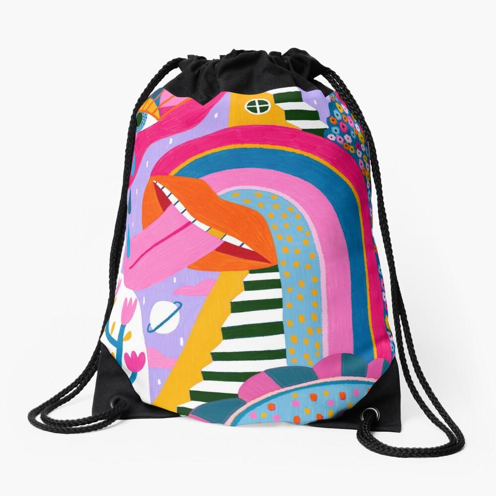 All the things Drawstring Bag