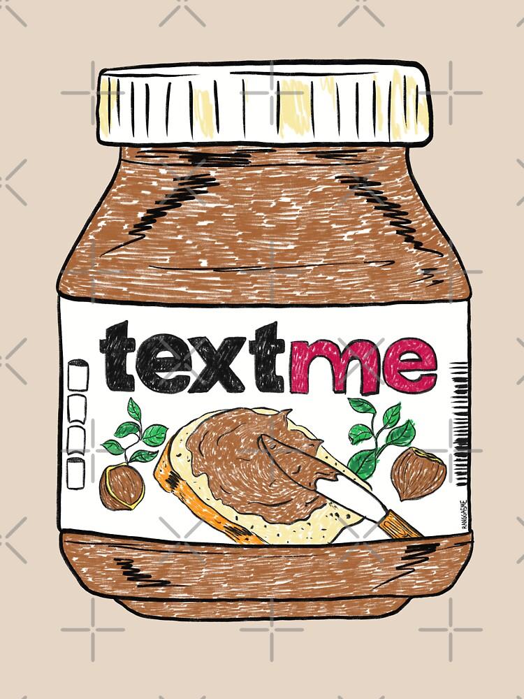 Text Me - Baby Pink by Ranggasme