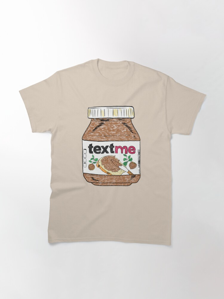 Alternate view of Text Me - Baby Pink Classic T-Shirt