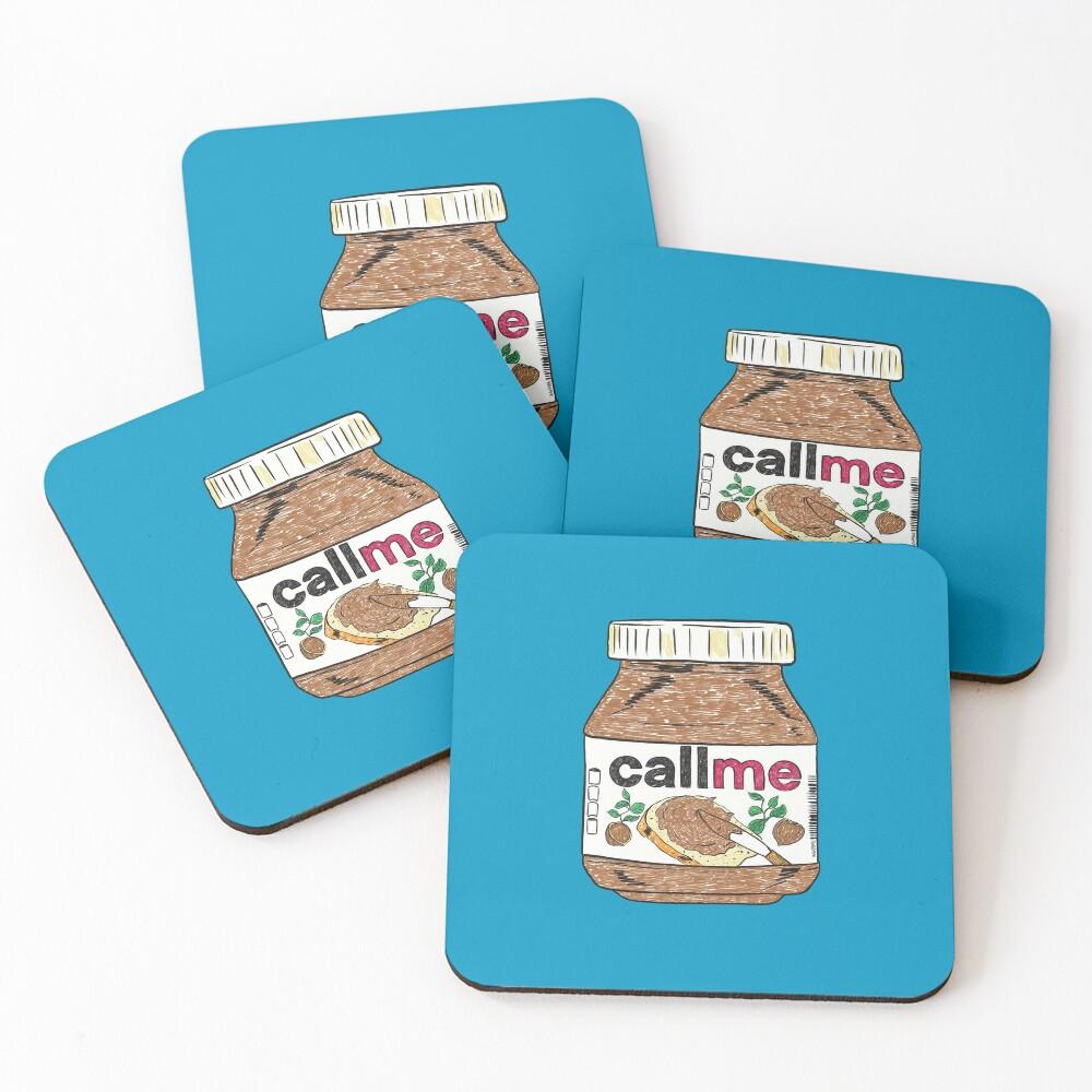 Call Me Coasters (Set of 4)