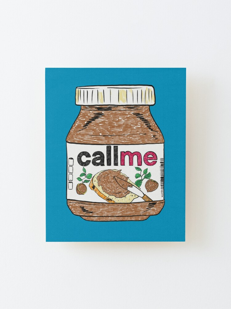 Alternate view of Call Me Mounted Print