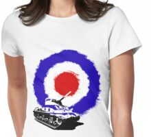 Tank Target Womens Fitted T-Shirt