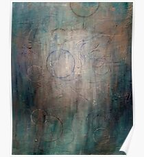 Abstract Angel painting Poster