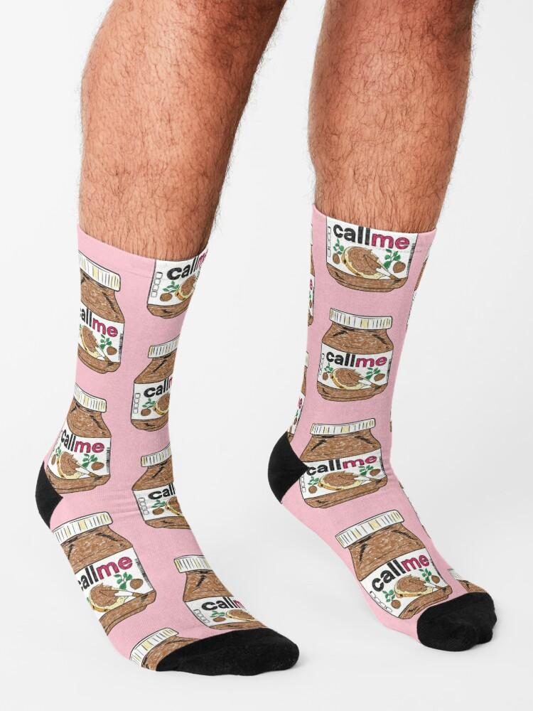 Alternate view of Call Me - Baby Pink Socks