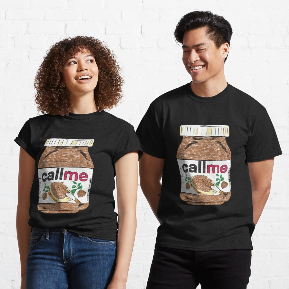 Call Me - Black Classic T-Shirt