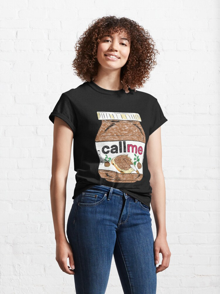 Alternate view of Call Me - Black Classic T-Shirt
