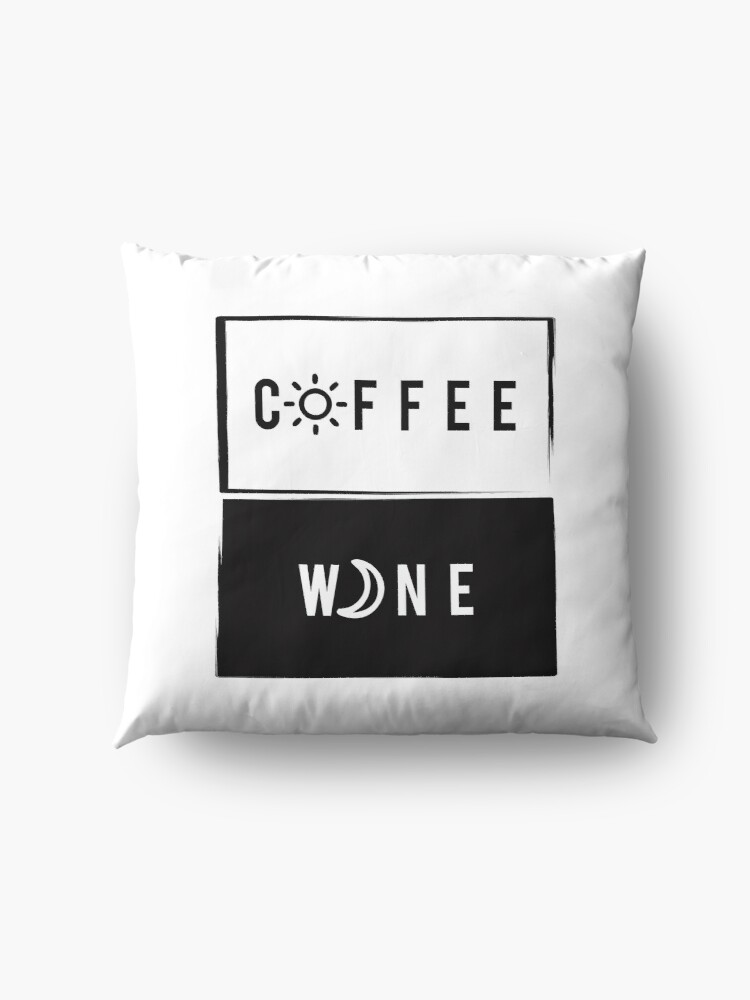 Alternate view of Wine & Coffee Floor Pillow