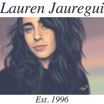 Lauren Jauregui Pastel cielo texto de itsamoose