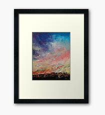 Wildfire Framed Print
