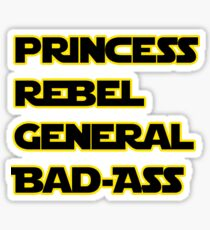 Princess Leia: A Summary Sticker