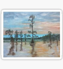 Sunset on Henderson Swamp Sticker