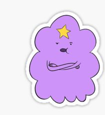 Lumpy Space Princess Sticker
