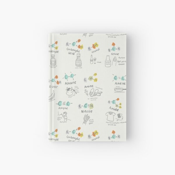 Molecules of Life Hardcover Journal