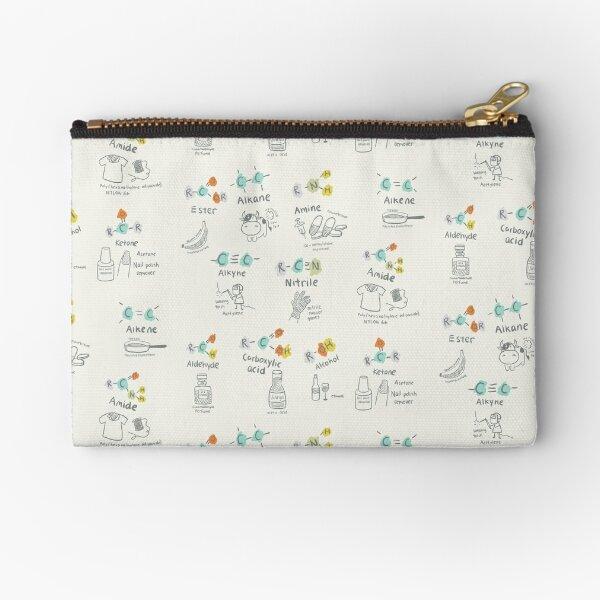 Molecules of Life Zipper Pouch