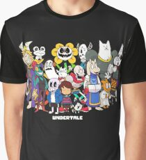 Undertale - All characters Graphic T-Shirt