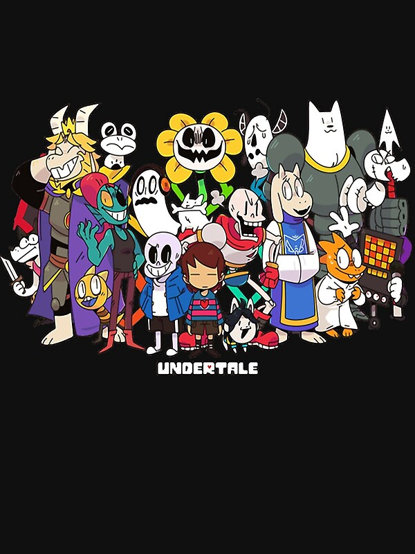 """""""Undertale - All characters"""" Posters by Mauro6 