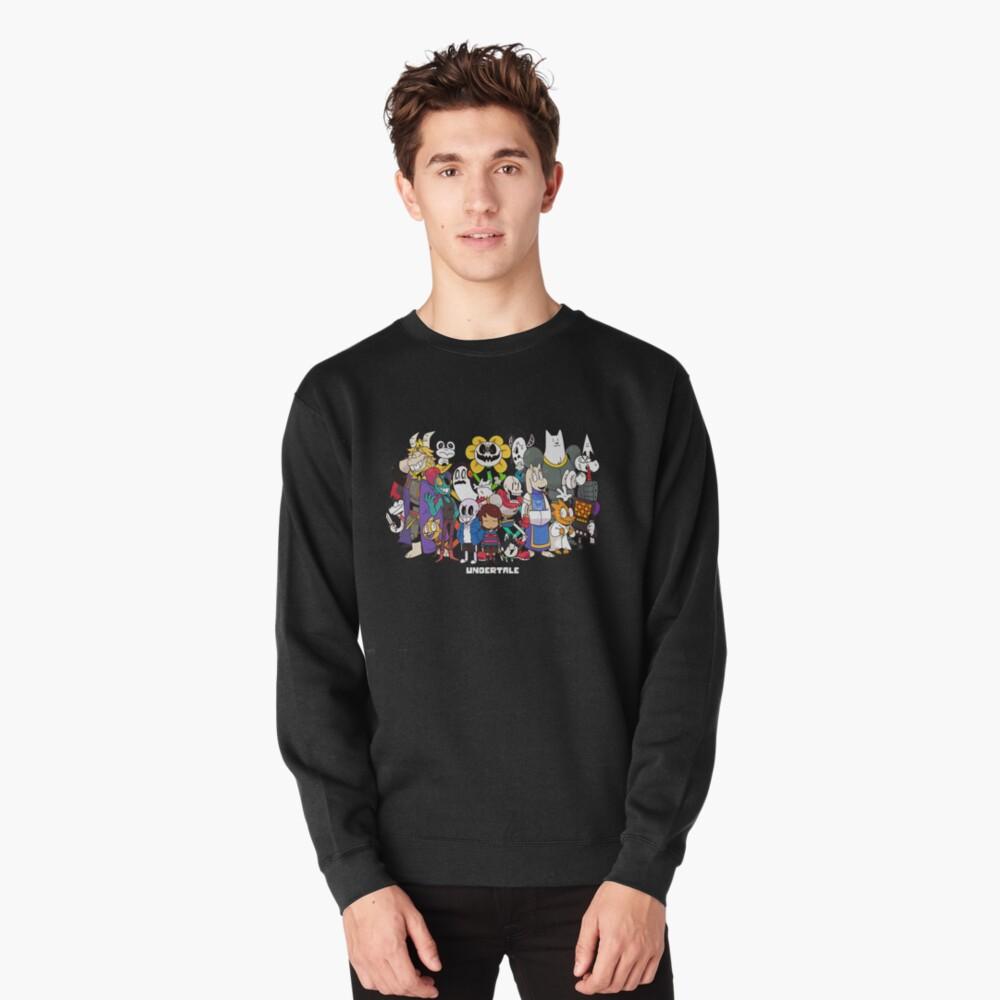 Undertale - All characters Pullover Sweatshirt