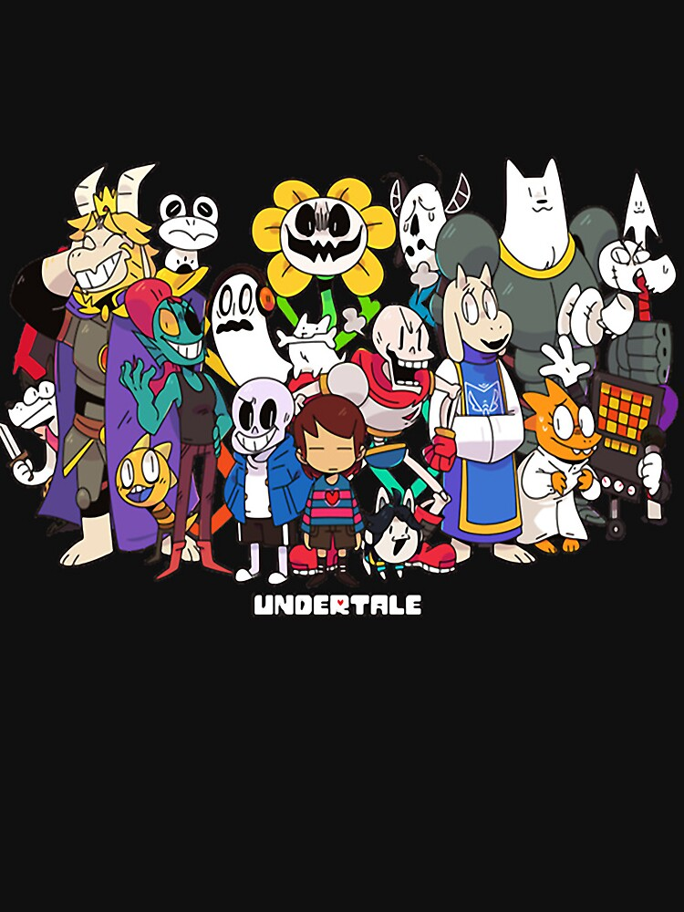 Undertale - All characters | Hoodie (Zipper)