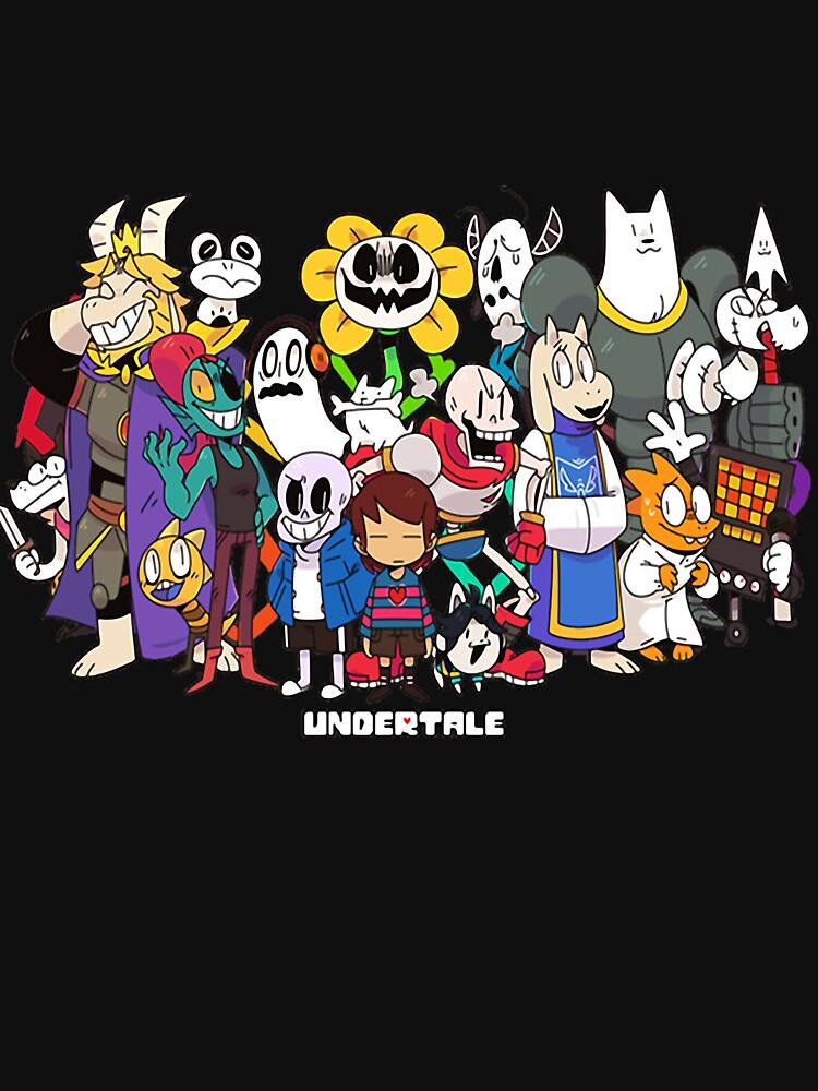 TShirtGifter presents: Undertale - All characters | Hoodie (Zipper)