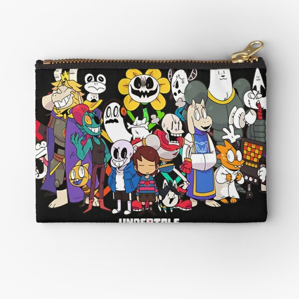 Undertale - All characters Zipper Pouch