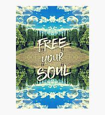 Free Your Soul Trianon Chateau Garden Versailles Paris Photographic Print