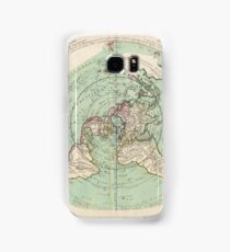 AE MAP Flat Earth Samsung Galaxy Case/Skin