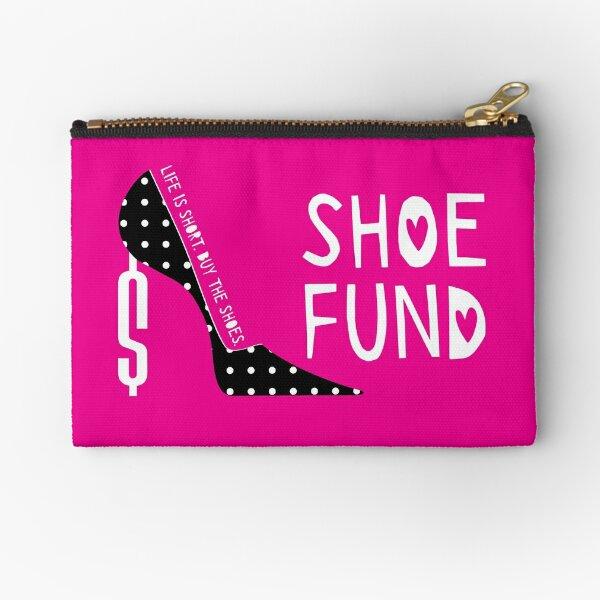 Shoe Fund Zipper Pouch