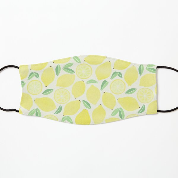 Summer Lemons Kids Mask