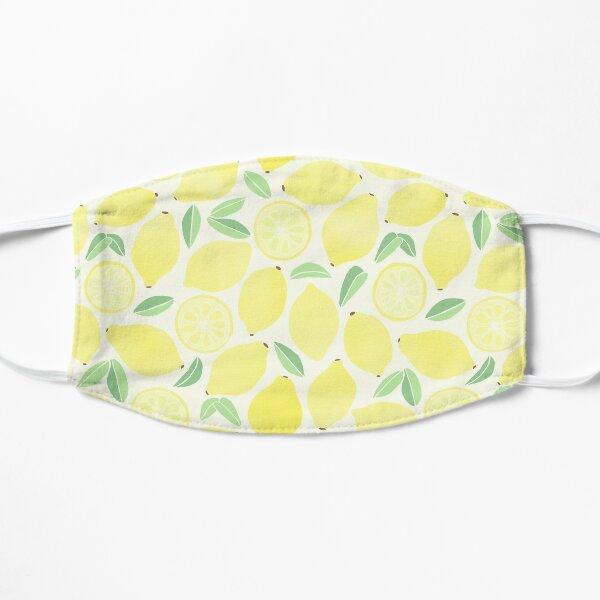 Summer Lemons Flat Mask