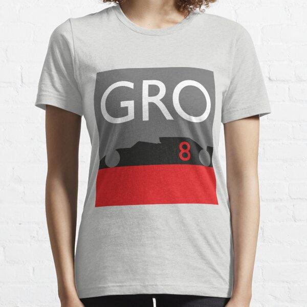 Romain Grosjean - Haas F1 2020 Essential T-Shirt