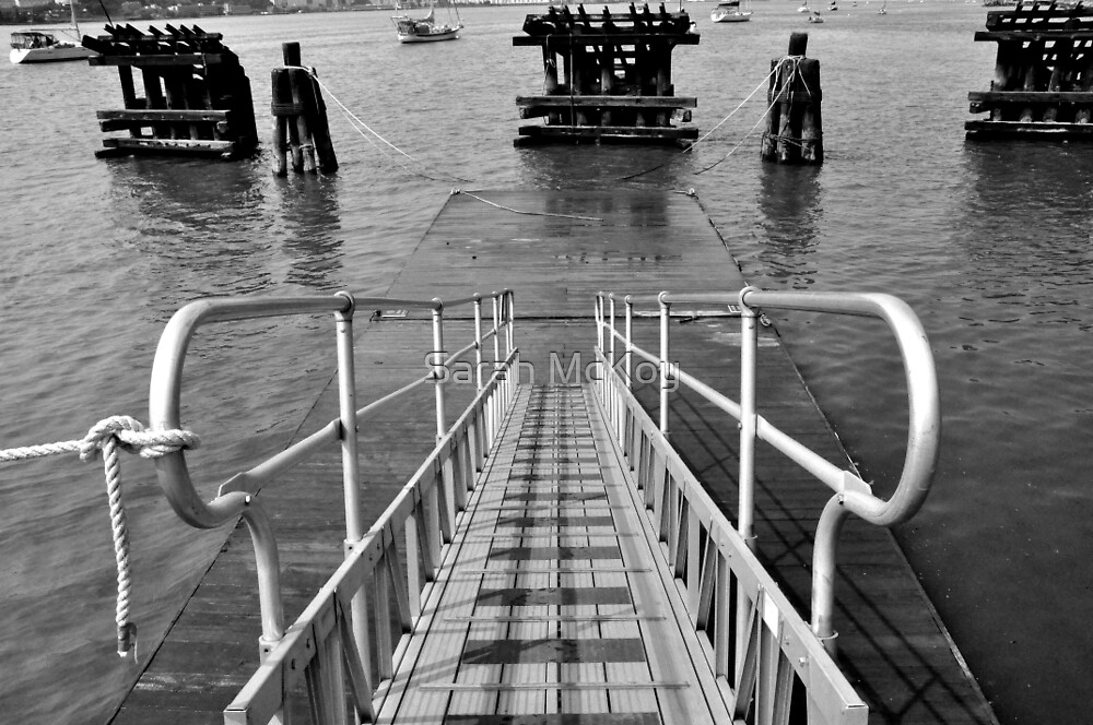 Kayak Ramp by Sarah McKoy