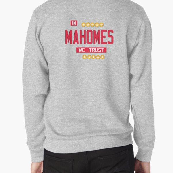 Patrick Mahomes QB - KC Kansas City Football - Mahomes, KC, Christmas, Kansas Pullover Sweatshirt