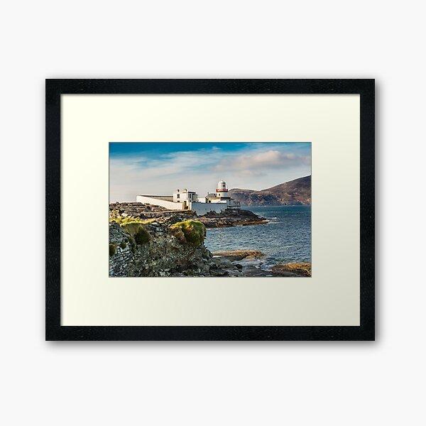 Valentia Island Lighthouse, County Kerry, Ireland 4 Framed Art Print