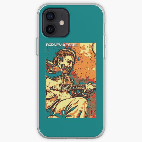 Barney Kessel iPhone Soft Case