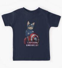Captain Americat Kids Tee