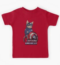 Captain Americat Kids Tee