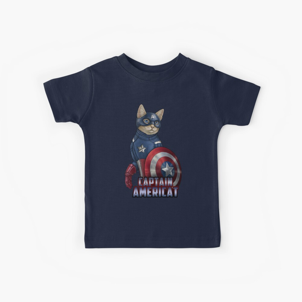 Captain Americat Kids T-Shirt
