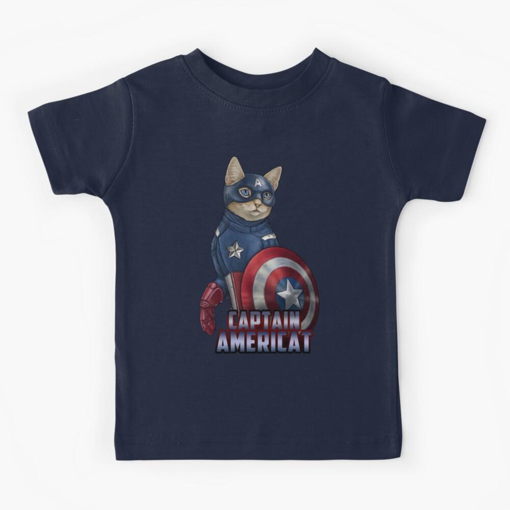 Captain Americat Kids T-Shirt