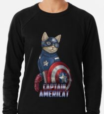 Captain Americat Leichter Pullover