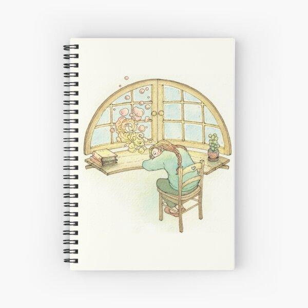"Petit "" Poisson-Rêve "" Cahier à spirale"