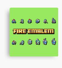 GBA LORDS | Fire Emblem Canvas Print