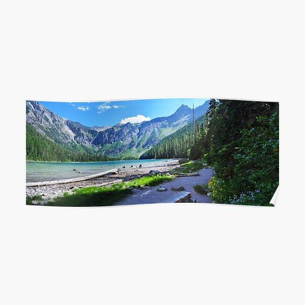 Avalanche Lake - Glacier National Park Poster