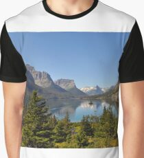 Saint Mary Lake & Wild Goose Island Graphic T-Shirt